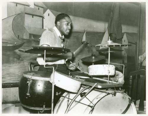 Marion Post Wolcott, Juke joint drummer, Tennessee, USA, October 1939. Source: New York Public Library