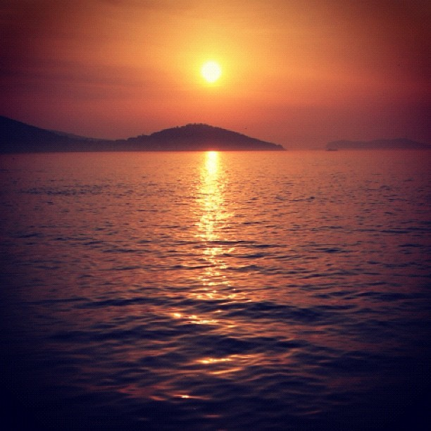 #sunset , princess islands , #Turkey  (Taken with instagram)