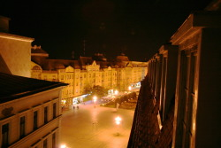 Timisoara: view from my hotel room by Teodora