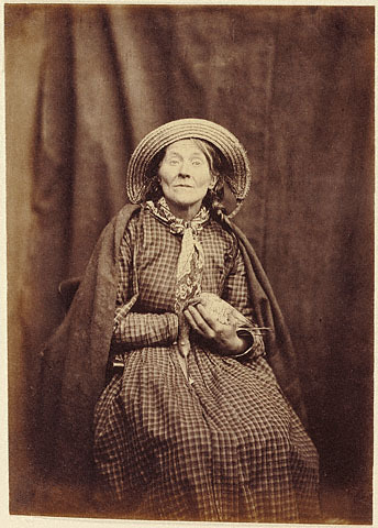 Dr. Hugh Welch Diamond, Seated Woman with Bird, Surrey, England, ca. 1855. Source: Getty Museum