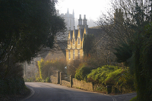 "Castle Combe - ""The prettiest village in England"" (by RobRoyAus)"
