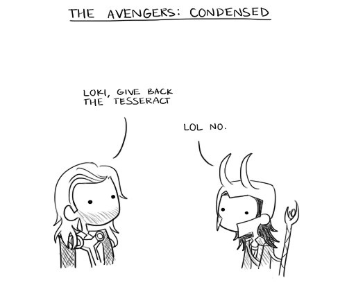 avengers-stuff:  The Avengers: Condensed by ~musicalirony