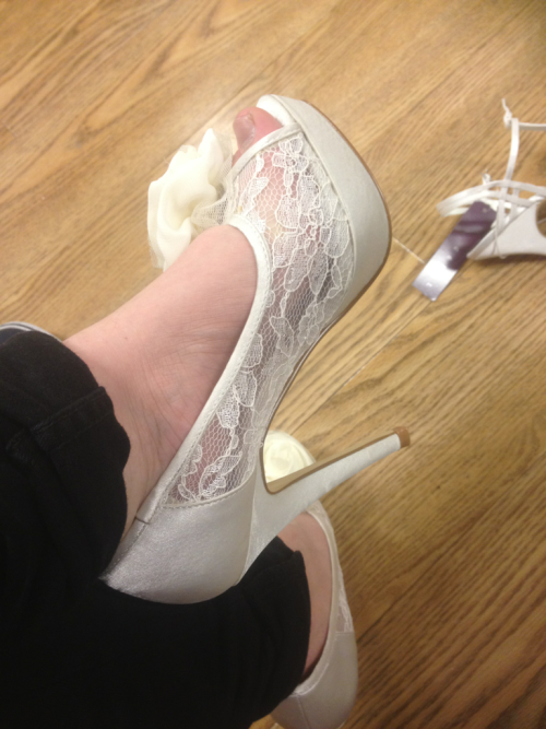 Bridesmaid shoes picked! Mmmmm.