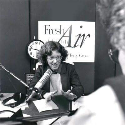 ohhhhhh look at the cutest little terry gross! happy 25th anniversary!