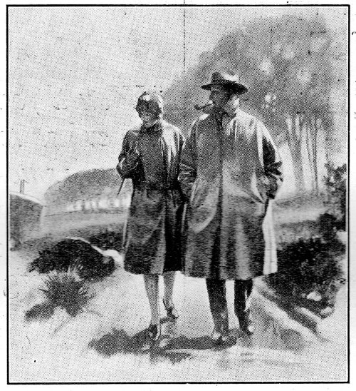 Couple. (Detail from an advertisement in Punch Magazine, 1928.)