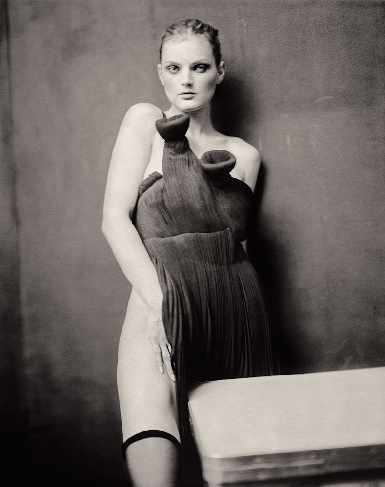 Paolo Roversi Guinevere behind the table, Paris, 2004 Few publishers in the history of photography have had as lengthy a track record of producing books that are now considered the medium's landmarks as Robert Delpire, who is honored in a tribute exhibition in New York City. See more here.