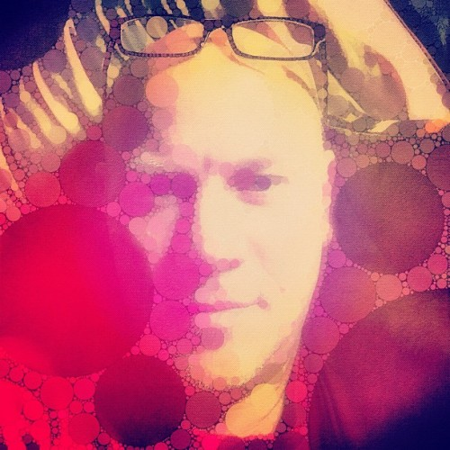 #selfportrait #percolator #app  (Taken with Instagram at Home Sweet Home)