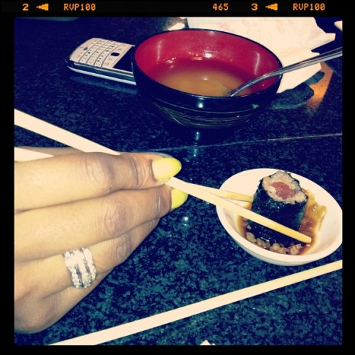 Sushi sushi!!! #Yum (Taken with instagram)