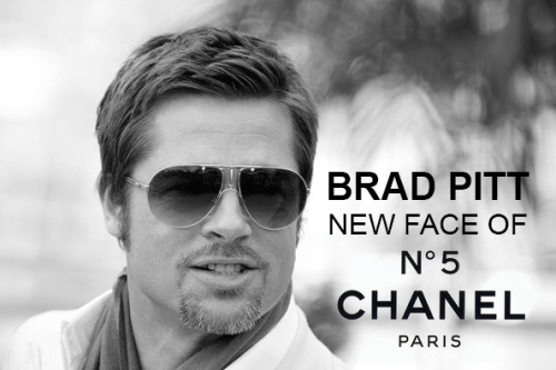 "Five drops of Chanel No.5 and now you'll get a drop of Brad Pitt aswell …  Regarded as one of the most feminine products to ever grace the shelves, Chanel No.5 is still seen as the vanguard for femme fatale ever since its first release 90 years ago.  This image of seduction and desire that Chanel have created for this famous perfume has been endorsed by many highly successful  women such as the likes of Catherine Deneuve, Nicole Kidman and not forgetting the everlasting Marilyn Manroe who in a 1954 interview, when she was asked what she wore to bed, the movie star provocatively responded ""five drops of Chanel No. 5.""  So in history it is noted that Chanel No.5 is the essential product that a woman should have in their closet but looks like the world famous perfume line is shaking things up. Having catered their marketing campaign to women for the past 90 years they have announced that they will be endorsed by its first ever male celebrity and who none better than Brad Pitt. Our note: When we think of Chanel No.5 you always picture a timeless beauty (don't get us wrong Brad's an endless beauty) but you envision a woman holding the renowned bottle. Do we think that this is a right move on Chanel's part, Coco Chanel had often said ""Look for the woman in the dress. If there is no woman, there is no dress"", if we follow in Coco Chanel's ideology what is about to happen is that the woman and the dress is to disappear but that being said we are living in a different age compared to Coco. article written by: www.frontpose.com"