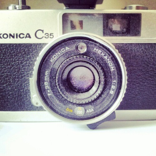 #old #camera #retro (Taken with instagram)