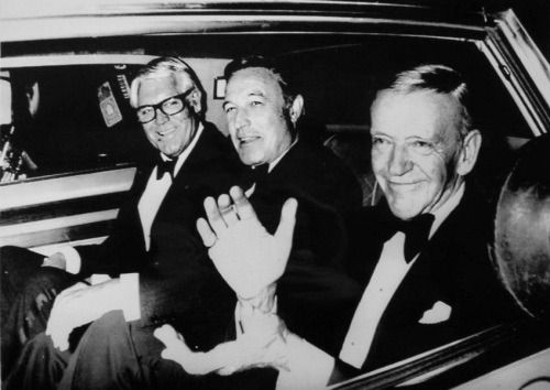 """Fred and I and Cary Grant are the sort of show-off males, of the old movies.  We'd trudge up there, take a bow, and go and have a drink.""  - Gene Kelly, 1980"