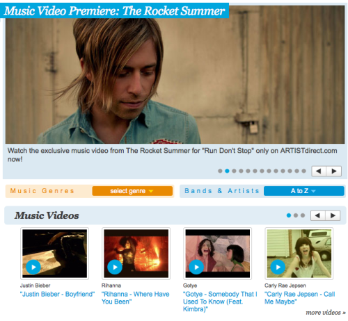 "Our friends at ARTISTdirect are premiering the ""RUN AND DON'T STOP"" video today.  It's a fun teaser for new album LIFE WILL WRITE WORDS, out June 5th."