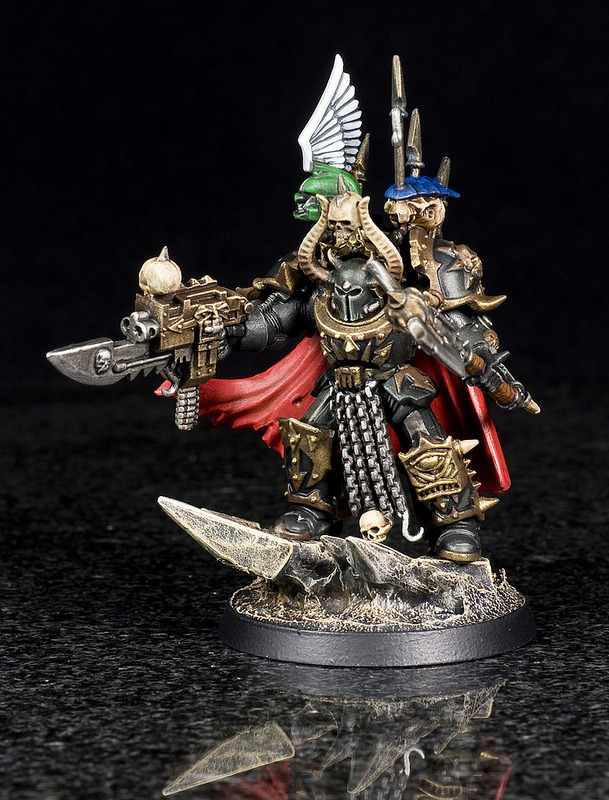 Now the Chaos Lord the way the client wanted it as opposed to the way I THOUGHT he wanted it.