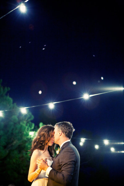 First Dance under the stars = perfection  Photo Credit: Llanes Photography via Style Me Pretty