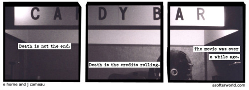 A Softer World: 811 (You were in the bathroom.)