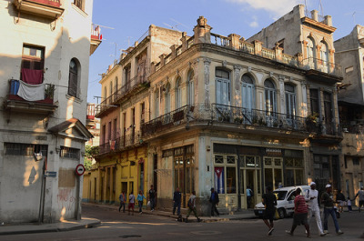 Havana street scene (by The Globetrotting photographer)  La Habana, Cuba