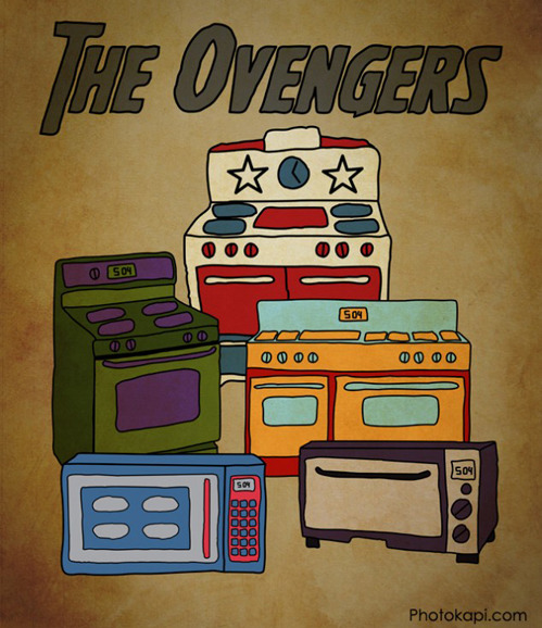 list25:  The Ovengers via
