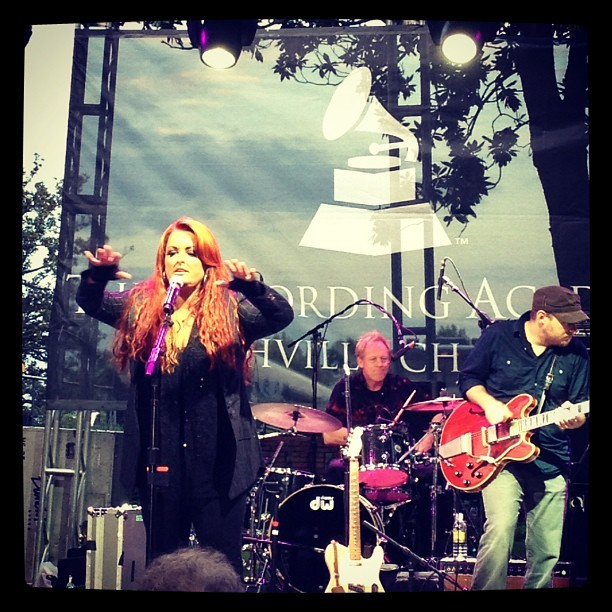 Five-time GRAMMY winner Wynonna Judd takes the stage at last night's Nashville #GRAMMYBlockParty