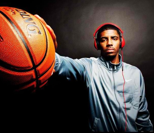 Kyrie Irving adds Skullcandy headphones to the endorsement list already featuring Nike and Pepsi MAX.