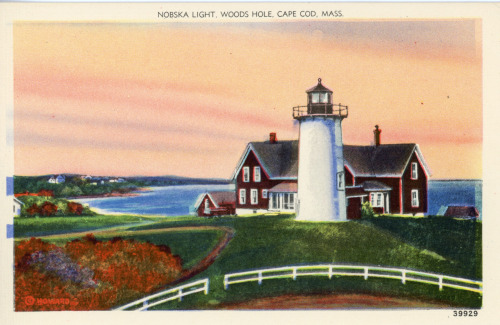 Nobska Light, Woods Hole, MA.