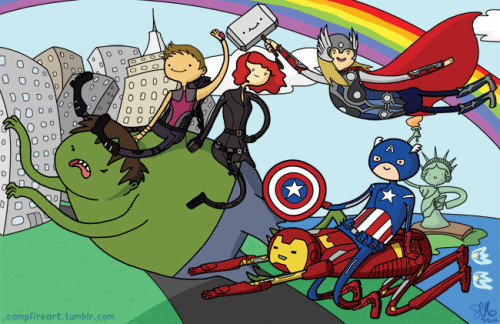 time-lord-victorious:  Avenger Time