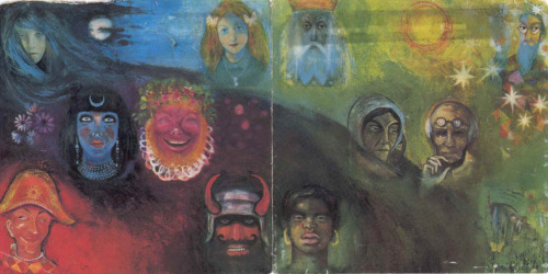 My favorite King Crimson album; 'In the Wake of Poseidon'  beautiful album art.