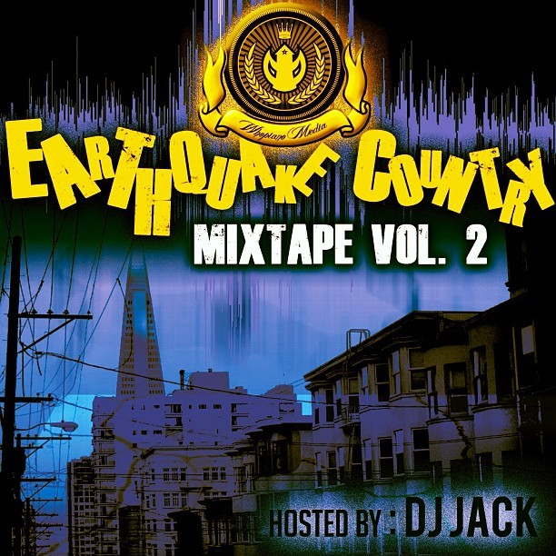 #Download my cuzzo @whopianomedia's new Mixtape #EarthquakeCountry Vol 2 feat. Up & coming artists from the #BayArea » www.whopiano.bandcamp.com || #BayNational #teambackhand #slowdown #Hustle #Grind #HipHop #NewBay #slaps #gas #Swag #Steez #Mixtape #slowdown #SoulClap  (Taken with instagram)