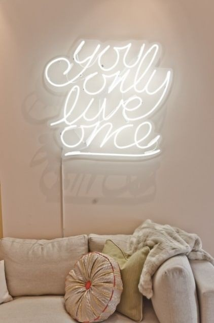 thedecorista:  You only live once!