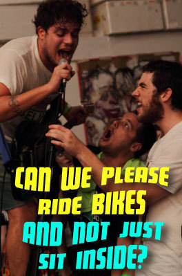 Can We Please Ride Bikes?