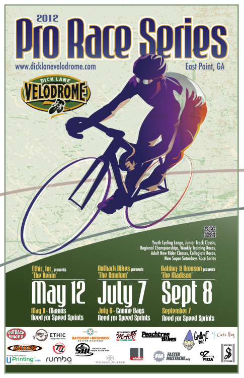 THIS WEEKEND AT DICK LANE VELODROME   Get ready for The Keirin!  This Saturday, the Pro Race Series kicks off with one of the most exciting track races of the year.  A quick look at the start list and you can tell things are going to get fast.  And don't forget about the Need For Speed Sprints on Friday night.  Full race flyer is available HERE.