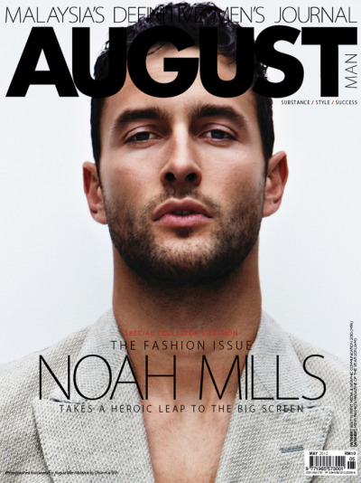 malemodelscene:  Noah Mills for August Man May 2012