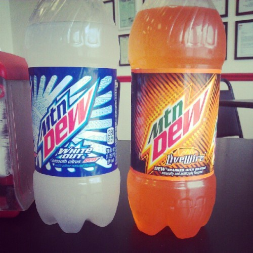 snacktim3:  #mtnDew #whiteout #livewire (Taken with instagram)