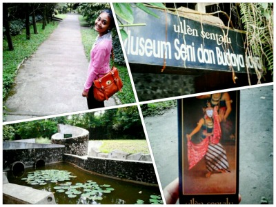 My Culture Trip to Ullen Sentalu Museum Yogyakarta.  i used to try my luck, to work in yogyakarta. i applied to this museum, and i got call from them to have a test. so i tried it, but i failed. and it's not a big deal, it was such a trip. a nice trip. a nice cultural trip. why was that? after i had the test, i went to the museum, and i amazed. this place is so adorable. one of a special museum type. this museum tells us about art and culture Javanese history, especially Keraton Surakarta and Yogyakarta. We walked around the museum accompanied with one educator guide who told us about all of this museum, history and all behind. The place is great, they take care of this place very very well. i love this place, i love Yogyakarta.  Thanks to my friend, Arie Oktara who took me there and took this picture for me so i can share it for you.. :)
