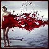 Dressed in blood