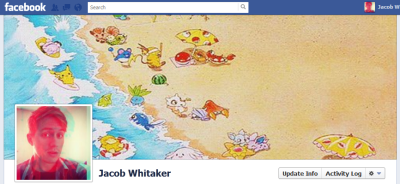 New cover photo makes me excited for vacation! Plus it has Pokemon on it. :)