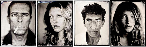 Tintype portraits by Michael Shindler (via the obsessive imageist)