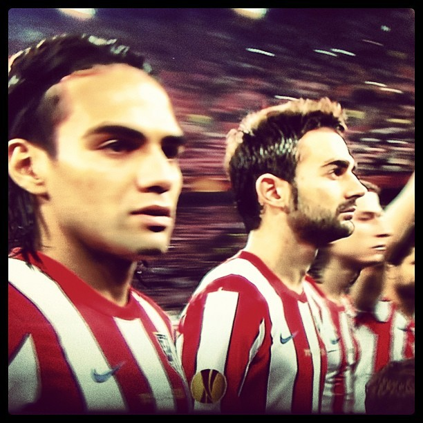 Lets go #Atleti ! #Falcao    (Taken with instagram)
