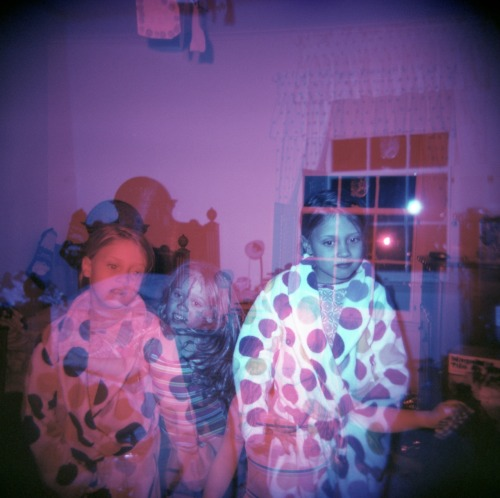 T-T-Triple exposure! I forgot to advance the holga again…
