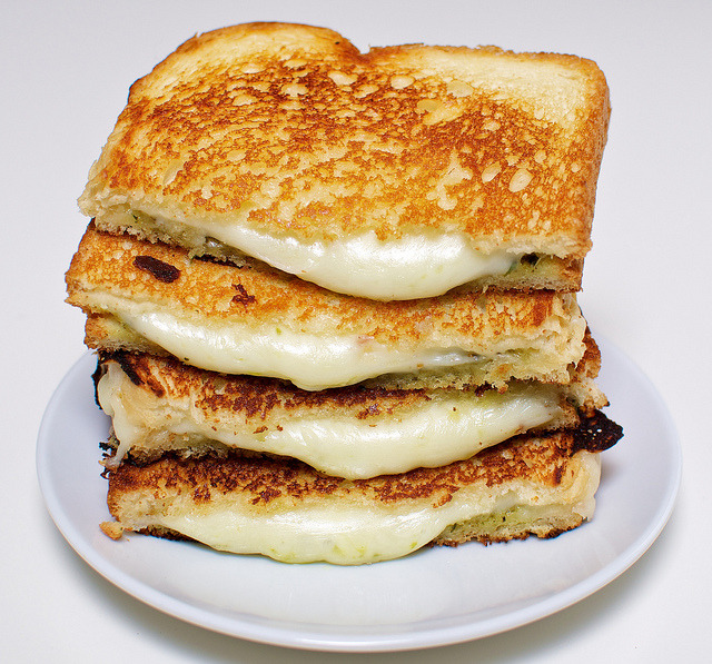 fridgebook:  Grilled Cheese by Edward Sargent
