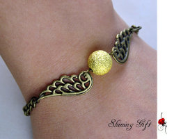 Golden Snitch Bracelet  Listing (x) Seller (shininggift)