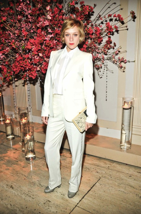 wearingthepants:  Chloe Sevigny at the NEW MUSEUM 35th Anniversary Gala