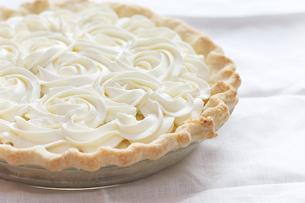 bakeddd:  coconut cream pie click here for recipe