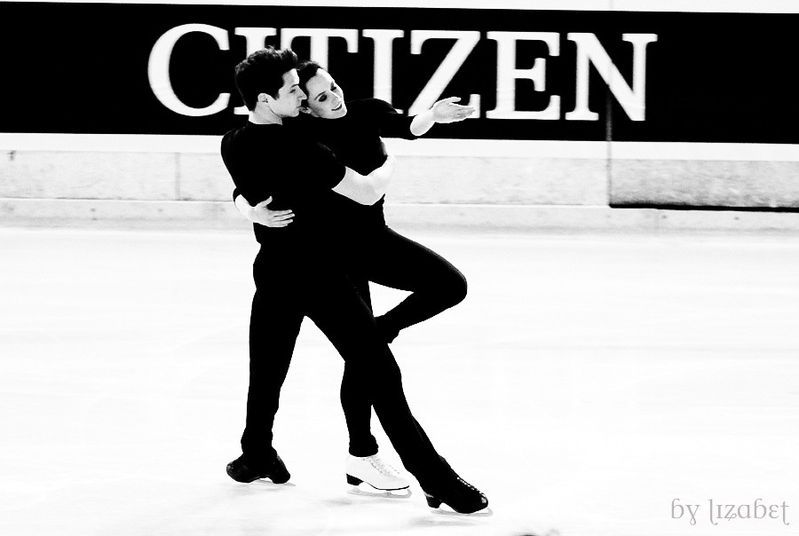 Tessa Virtue and Scott Moir, 2012 World Championships practice