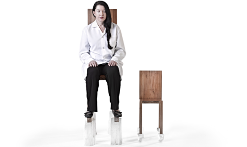 Marina Abramovic can sit motionless for hours, days, and weeks on end, and now you can too! See the furniture collection of the Abramovic Method.