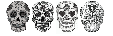 #skulls #love #fashion #heart #badass