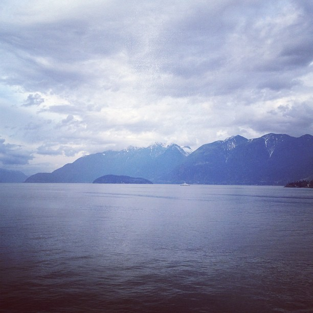Welcome back Lower Mainland! #seatosky #horseshoebay #ferry #vancouver #ocean (Taken with Instagram at Horseshoe Bay Ferry Terminal)