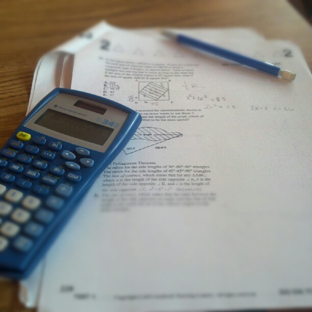 All I've been doing lately is study… (Taken with instagram)