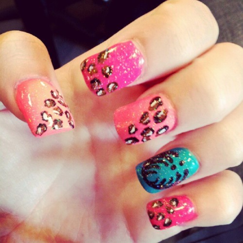 #bassnectar #nail #nailart #cheetahnails #cheetah #swagger #swag #basshead #bassface #partylife #party  (Taken with instagram)