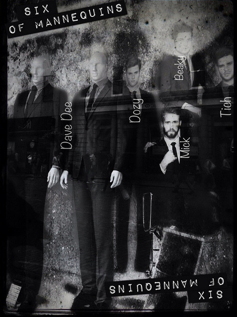 Urban Deck. Six of Mannequins #iph100 #iphoneography on Flickr.