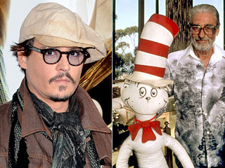 Did you know that Johnny Depp is going to star in a Dr. Seuss biopic? The movie's going to be kind of like a combination of Finding Neverland and Who Framed Roger Rabbit — Depp tells us that it will delve into the author's imagination, letting audiences see Theodor Geisel's creative process unfold as he interacts with his most famous characters. In other words: That Edward Scissorhands/Lorax crossover fanfic you wrote is finally coming true.
